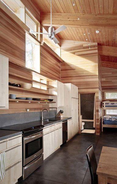 Casa de Invierno minimalista   Casas de Madera Prefabricadas