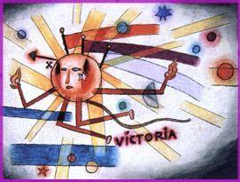 Victoria - Xul Solar (Oscar Agustin Alejandro Schulz Solari) - argentino (1887-1963)