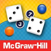 McGraw-Hill's Tric-Trac game offers a fun and easy way to practice addition facts. This competitive two-player game runs on the iPad, iPhone, and iPod Touch.