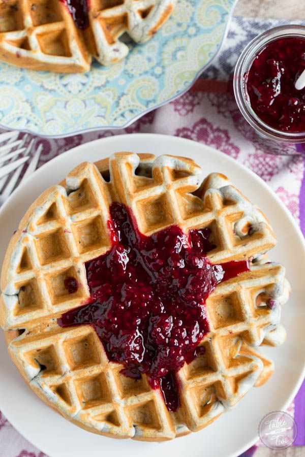 Jul 8, 2020 – Blackberry lemon waffles make the perfect brunch entree! These waffles are perfectly light and crisp with…