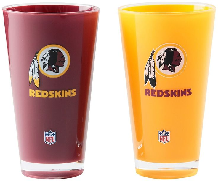 Washington Redskins NFL Football 2-Pack Tumbler Cup Set