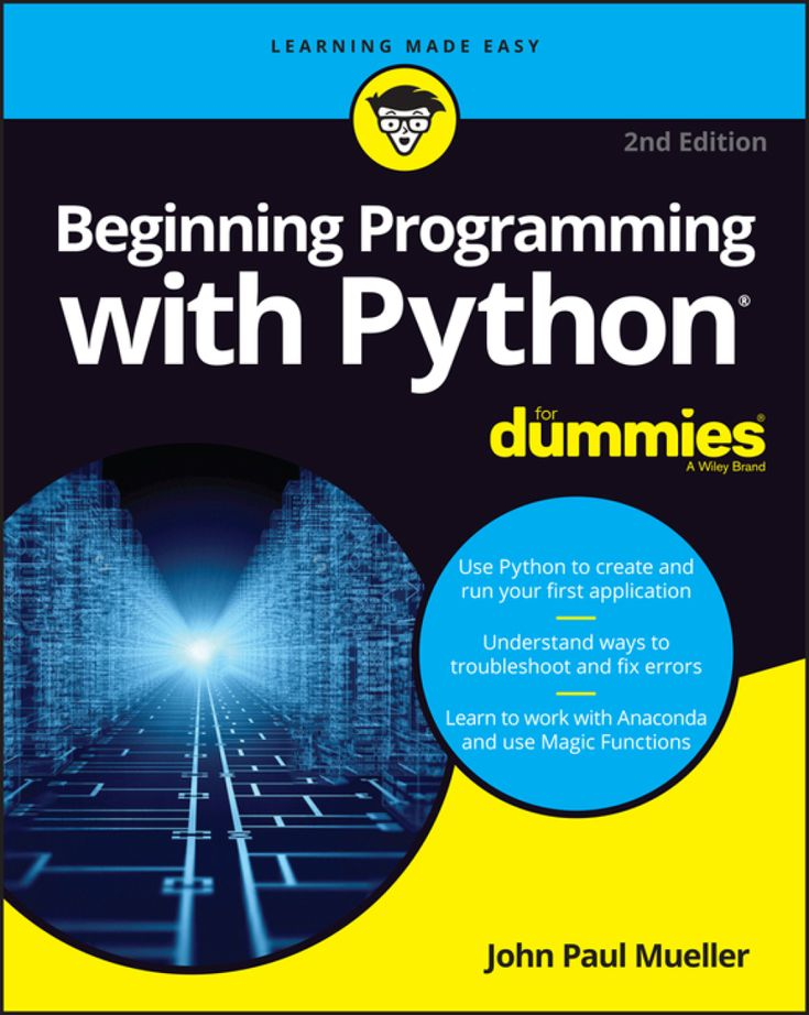 Getting Started Programming with Python For Dummies (eBook)   – Products