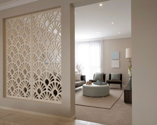 Quite like this divider/half wall concept. Melbourne Spaces Design, Pictures, Remodel, Decor and Ideas