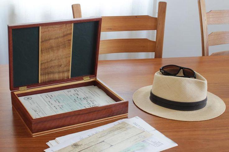 Buy Garrick Document Box Online | Australian Woodwork | Australian Woodwork