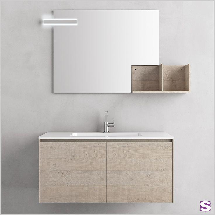 28 besten Badmöbel Sets Groß Bilder auf Pinterest Badewannen - badezimmer waschtisch mit unterschrank