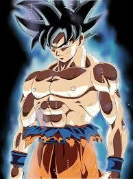 Resultado De Imagen Para Goku Ultra Instinto Dibujo Trabajito V