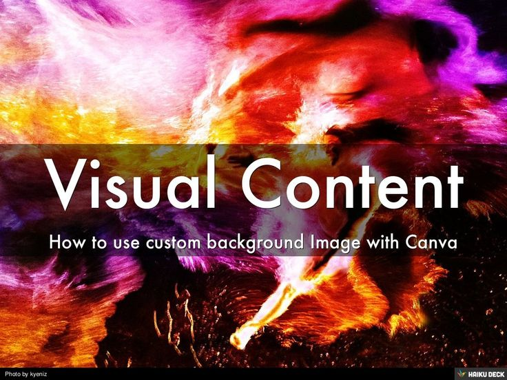 Visual Content by Felix Relationship Marketing via slideshare