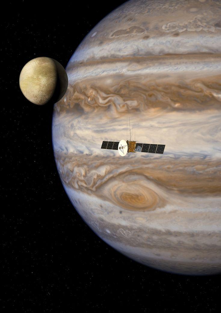 NASA Approves Instruments for ESA's 'JUICE' Mission to Jupiter System