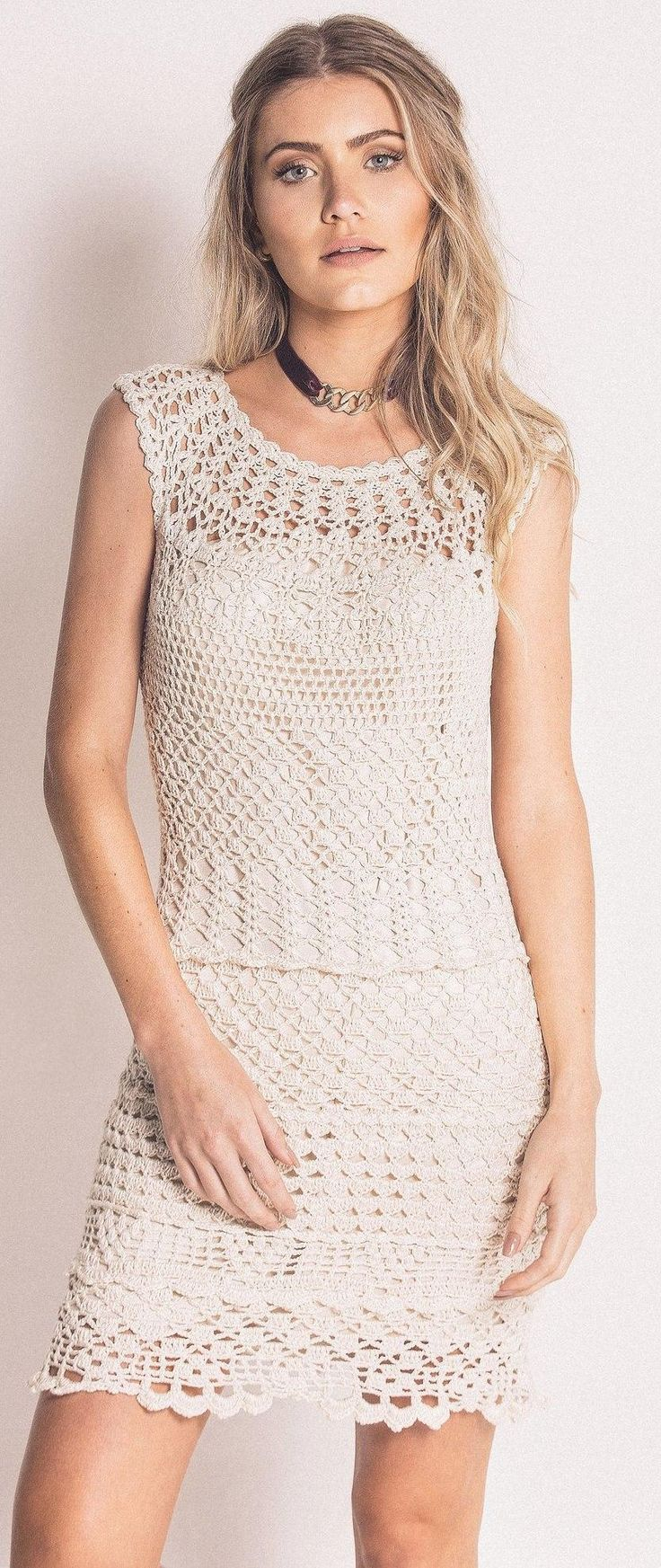 crochet dress by Terezza