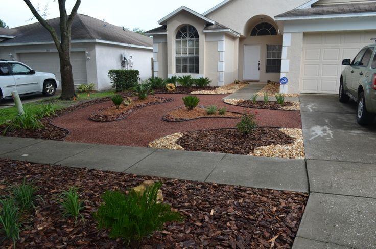 Innovative Grassless Backyard Ideas 1000 Images About Grassless Lawn On Pinteres Backyard Landscaping Backyard Backyard Garden Design