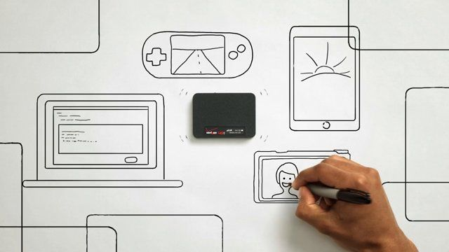 Verizon Jetpack is a mobile wifi hotspot that you can take with you to access wifi wherever you go. The initial concept came from the efficiency of sketching ideas with just a sharpie on paper, something that happens a lot in the brainstorming world of art directing.   What was specifically challenging for this project was the amount of illustration and content the script contained within a 30 second spot. Watching a hand draw something is not particularly interesting for 30 seconds, so we…