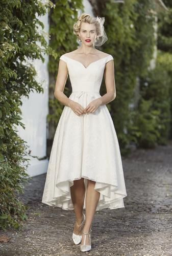 Check out our selection of affordable tea-length bridal gowns from Brighton Belle. Fairy ...