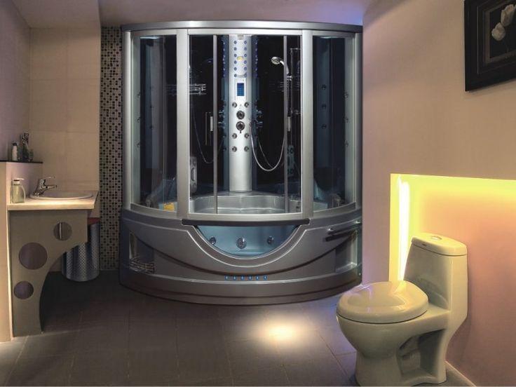 Душ, в котором хочется петь Стильный #душевойбокс Этот вариант сантехнического оборудования для ванной комнаты практически универсален. В данном решении отлично сочетаются положительные качества и ванн, и душевых кабинок. Особенно эффективным данное решение является для владельцев небольших ванн, которые не могут себе позволить отдельно размещенное оборудование для ванных процедур и принятия утреннего душа. #сантехника  http://santehnika-tut.ru/dushevye-boksy/