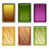 Стиль разноцветное стекло — Различные PSD, PNG файлы для фотошопа