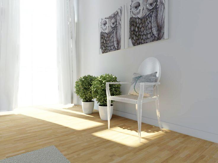 Bedroom - pure interior; by Interior designer Joanna Krupa