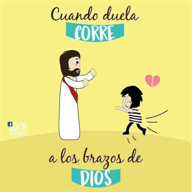 Hacia los brazos de Dios!!