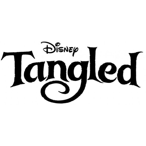 That Disney's RAPUNZEL Movie Called TANGLED Got Itself A Logo ❤ liked on Polyvore featuring disney, words, tangled, backgrounds and quotes