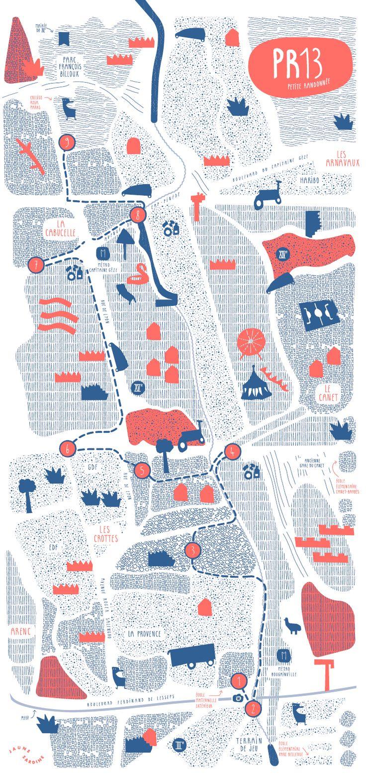 PR13 map – Graphic design