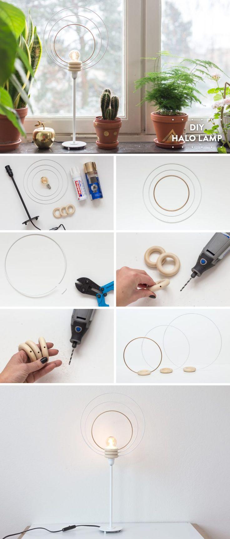 DIY Halo Lamp   by Anna María