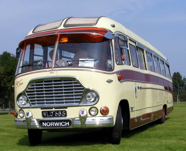 Bedford SB coach with Duple Super Vega body