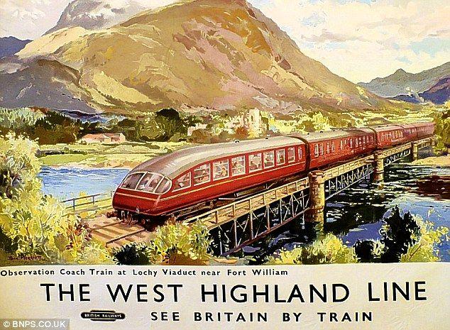 Northern delight: Scotland's Lochy viaduct, 1959