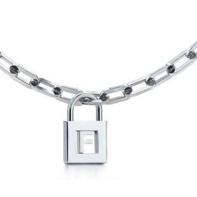 My favorite jewelry, Tiffany Charms Tiffany F Charm Necklace