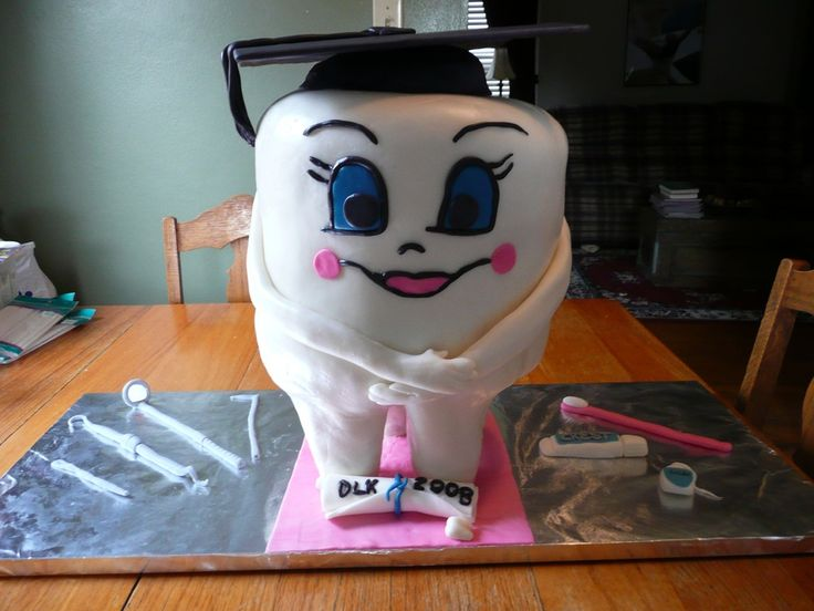 17 Best images about Tooth Cake on Pinterest First tooth ...