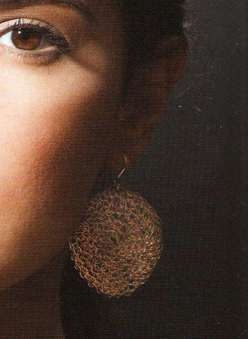 Web Mandala Earrings, pattern in Creative Crochet Jewelry by Esther ZadockEsther Zadock, Crochet Ideas, Crafts Crochet, Diy Crafts, Dyi Jewelry, Crochet Jewelry, Crochet Jewellery, Creative Crochet, Crochet Earrings