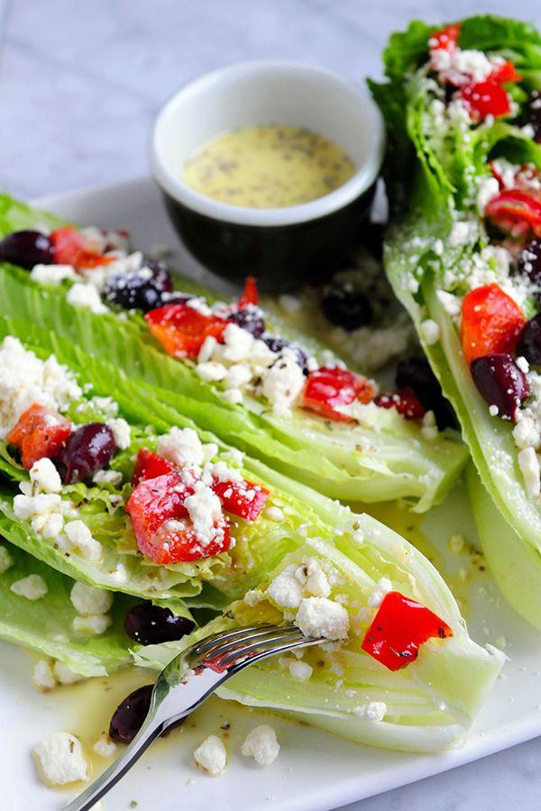 Zesty Greek Romaine Wedge Salad image