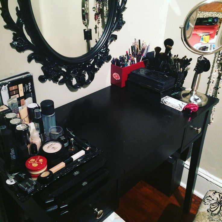 Image result for gothic vanity table