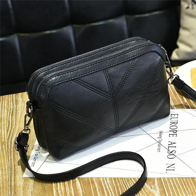 7cf4bae551a5 NIGEDU Brand women Messenger bag High quality soft PU Women s shoulder bag  Mother gift Crossbody Bags
