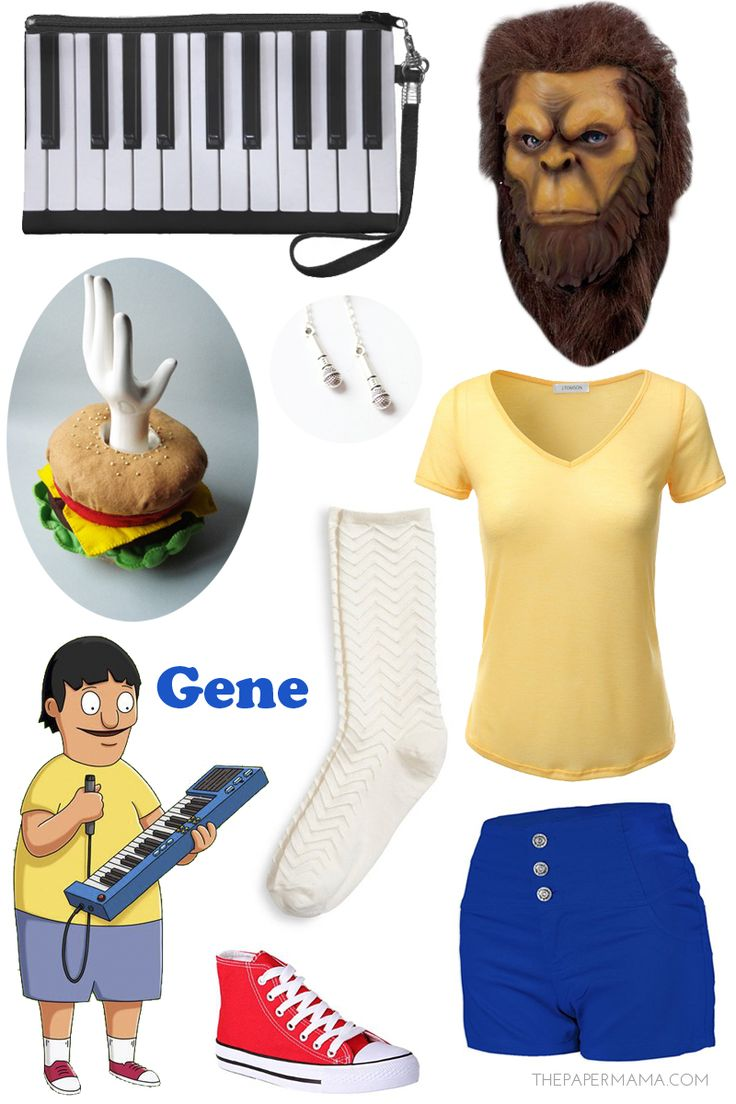 Day 2: Bob's Burgers Costume Inspiration (for the ladies) with links to find all of these items! #bobsburgers