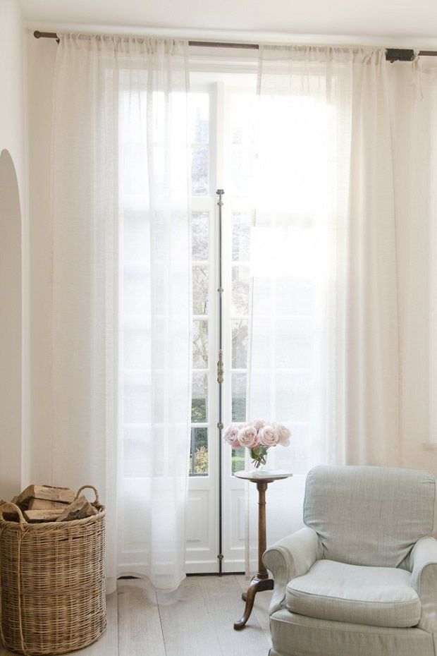 17 beste idee n over grote ramen gordijnen op pinterest grote ramen bekleding grote gordijnen - Gordijnen voor moderne woonkamer ...