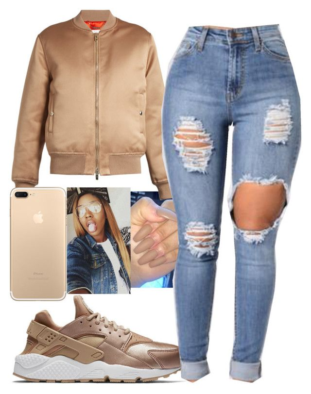 """1942- PND"" by sophalopha13 ❤ liked on Polyvore featuring NIKE and Givenchy"