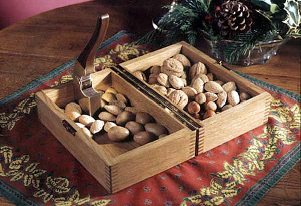 This nutcracker hides away in its own beautiful box between uses. Even better, the box doubles as a nut bowl when the time comes to get cracking on some crunchy munchies.- See more at: https://www.woodstore.net/plans/holidays/1926-Nutcracker-and-box.html#sthash.kvEroy2g.dpuf