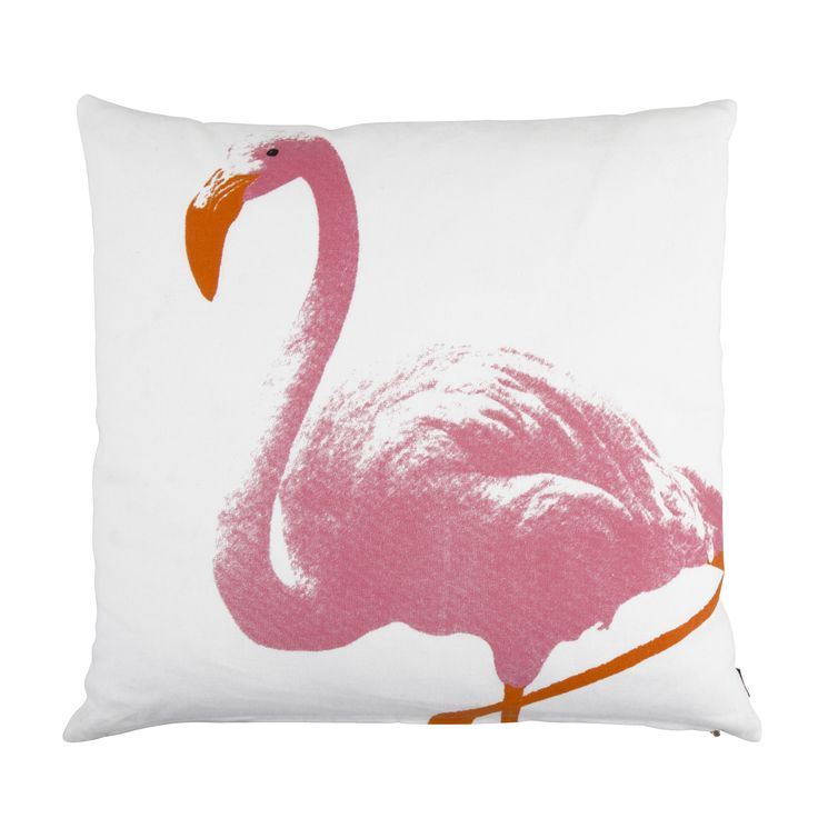 PINK FLAMINGO cushion | Design by  Eightmood | MIAMI SS16
