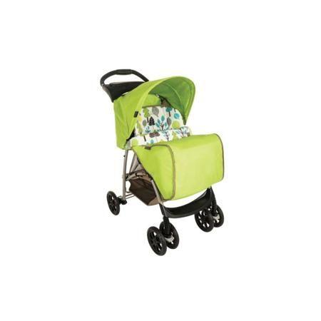 """Graco Прогулочная коляска Mirage Bear Trail  — 7790р. ---------- Прогулочная коляска""""Mirage Bear Trail"""" зелёного цвета марки Graco. Удобная четырехколесная прогулочная коляска оснащена мешком для ног и стальной рамой, на которой прочно закреплены колеса. Задние колеса имеют ножной тормоз, а передние являются поворотными. Сиденье регулируемое: три положения спинки позволят малышу спать (горизонтальная позиция) или наблюдать за окружением сидя (две позиции спинки). Безопасность ребенка…"""