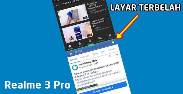 4 Cara Split Screen Layar Terbelah Realme 3 Pro 2 App 1 Layar Hp Aplikasi Youtube Berlayar