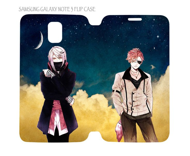 Samsung Galaxy Note 3 Flip Case Folio Cover Anime Diabolik Lovers Carla and Shin #QuinnCafe