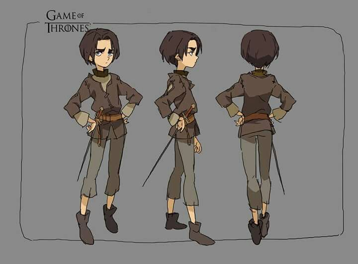Character Design Challenge Patreon : Arya ★ character design references https