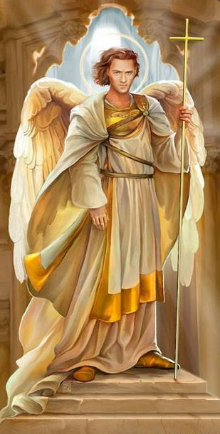 """The Archangel Jophiel (Heb. יופיאל """"Beauty of God"""") is also known as Iophiel, Iofiel, Jofiel, Yofiel (""""Divine Beauty""""), Youfiel and Zophiel (""""My Rock is God"""").Jophiel is said in Jewish lore to be a companion to the Angel Metatron (a Prince of Divine Presence), and is one of the chiefs of the choir of Cherubim.  If he is a Cherub or a Throne then he is also a """"prince of heaven"""" found in Jewish law and is a caretaker of the seven heavens and the angelic choirs."""