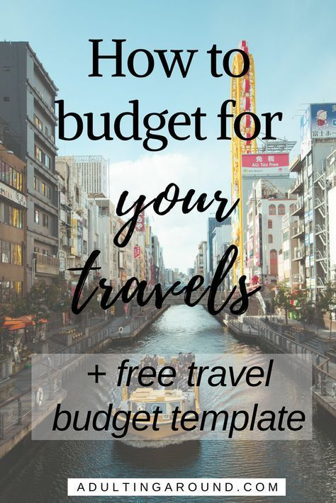 how to budget for your travels trip planning pinterest budget