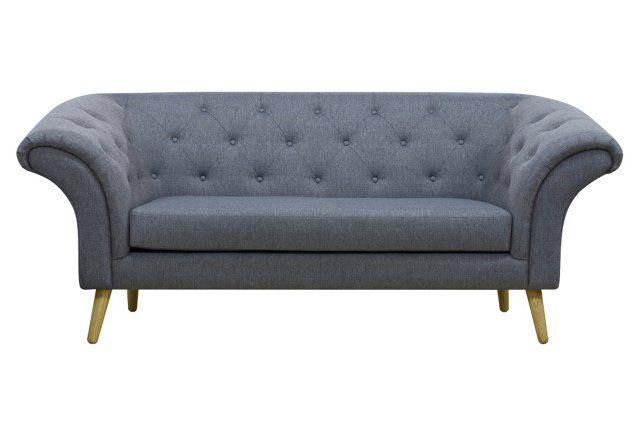 Colton 84 Quot Tufted Sofa Cornflower Blue New Apartment