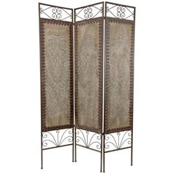 Our distressed room dividers are hand-crafted with care and patience to impart a time-worn beauty and character. Master artisans use a variety of techniques to create the presence and depth that make these designs sought-after accessories for hip, eclectic interiors in modern American homes and offices