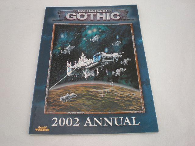 Battlefleet Gothic Games Workshop 2002 Annual Gamer's Book - http://raise.bid/store/books/battlefleet-gothic-workshop/