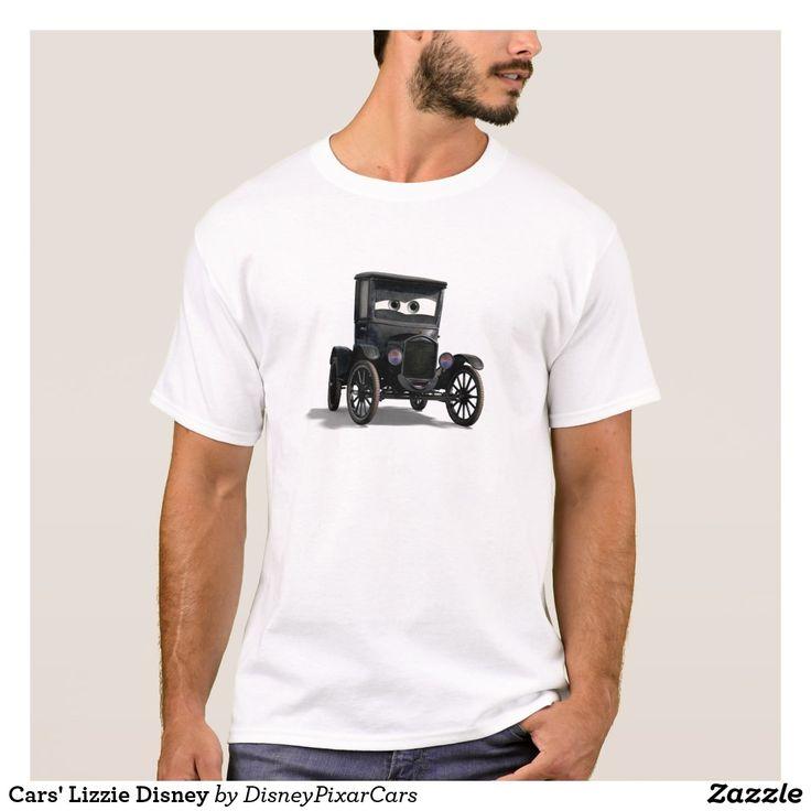 Cars' Lizzie Disney. Producto disponible en tienda Zazzle. Vestuario, moda. Product available in Zazzle store. Fashion wardrobe. Regalos, Gifts. Trendy tshirt. #camiseta #tshirt