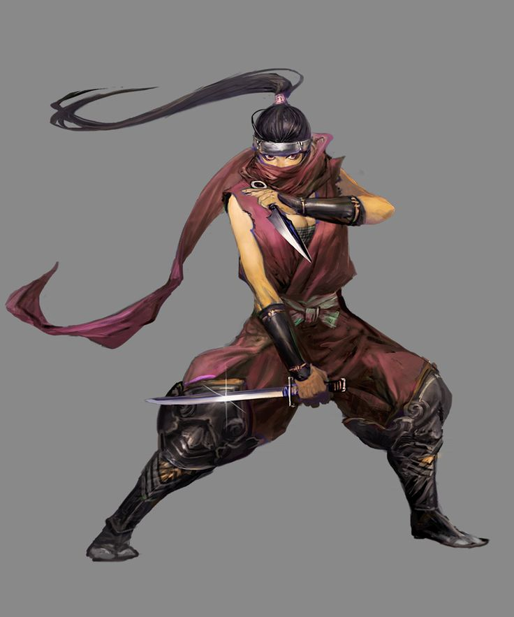 ✧ #characterconcepts ✧ Kunoichi - Stranger of Sword City [RPG]