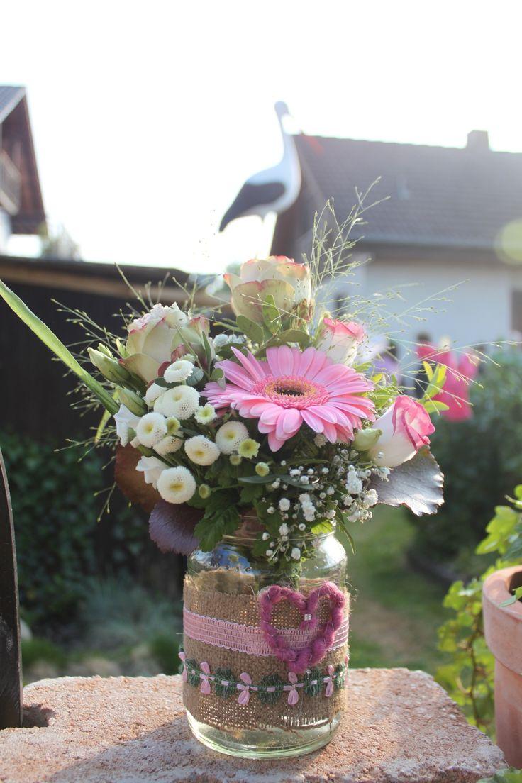 DIY Vase / Blumenstrauß // *Wedding* *Hochzeit*