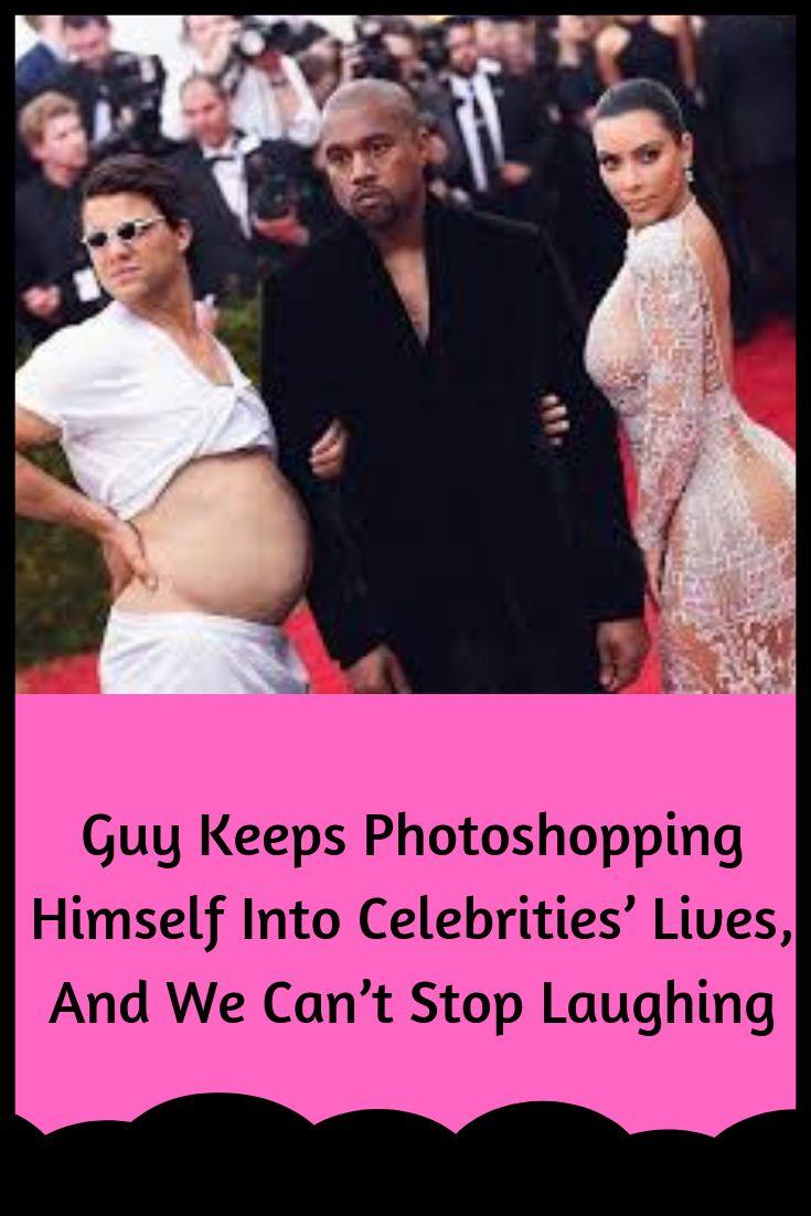 Guy macht immer wieder Fotoshops im Leben von Prominenten und wir können nicht aufhören zu lachen
