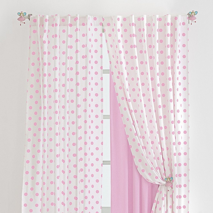 Polka Dot Curtains (of 33 products). Polka dot curtains can be good selection for those polka dot addict and they can decorate their home as they like. In general, this kind of curtains will be loved by many girls and ladies, because the patterns Read More >>. Polka dot curtains can be good selection for those polka dot addict and they can decorate their home as they like.